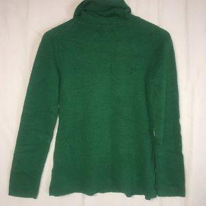 Banana Republic Lux Cashmere Blend Green sweater P